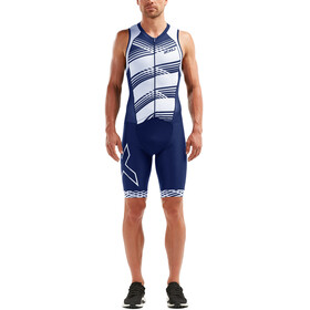 2XU Compression Men blue/white